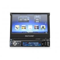 "GPS Extreme com som automotivo DVD Player tela 7"" Bluetooth Multilaser - GP044 - Preto - Multilaser"
