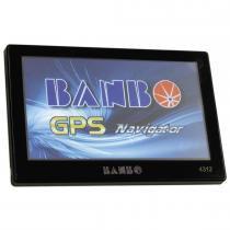 GPS Navegador Banbo 4,3 Polegadas 4312 Preto - Orbe - Orbe