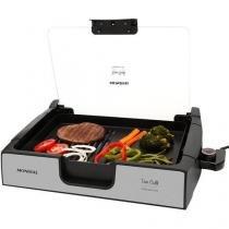 Grill Mondial Due Premium Quadrado 1270W - Placa Removível Coletor de Gordura