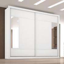 Guarda-Roupa Casal 2 Portas de Correr 6 Gavetas - Made Marcs Paris com Espelho