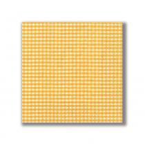 Guardanapo Vichy Amarela 33X33 cm Paper Design - Paper Design