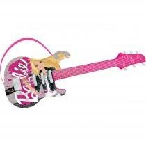 Guitarra Infantil Luxo Pop Star Barbie MT505A Fun - Fun
