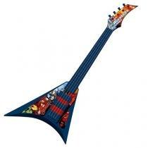 Guitarra Infantil Vingadores Musical Elétrica - Com Alça 1 Peça Toyng
