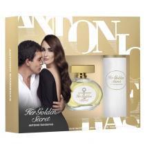 Her Golden Secret Eau de Toilette Antonio Banderas - Kit Perfume Feminino + Desodorante - Antonio Banderas