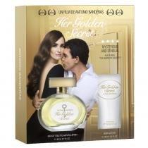 Her Golden Secret Eau de Toilette Antonio Banderas - Perfume Feminino 80ml + Loção Corporal 80ml - Antonio Banderas