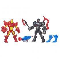 Hero Mashers Pack Iron Man vs Ultron - Hasbro - Avengers