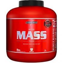 Hipercalórico Nutri Mass 15000 3Kg Morango - Integralmedica - Ideal p/ Ganhar Massa Muscular