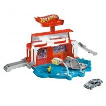 Hot Wheels Conjunto Lava Jato - Mattel - Hot Wheels
