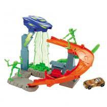Hot Wheels Conjuntos Clássicos Invasão Alienígena - Mattel - Tartarugas Ninja