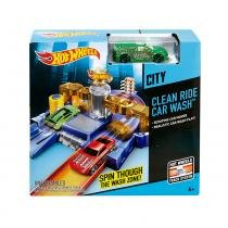 Hot Wheels Desafios na Cidade Lava Rápido Express - Mattel - Hot Wheels