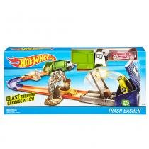 Hot Wheels Pista manobra Construction Track Set - Mattel - Madagascar