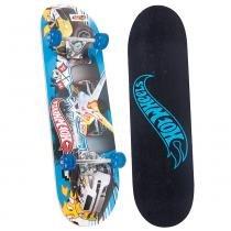Hot Wheels Skate com Acessórios de Segurança - Carro Cinza - Fun Divirta-Se - Hot Wheels