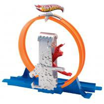 Hot Wheels - Track Builder Looping Veloz - Mattel - Hot Wheels