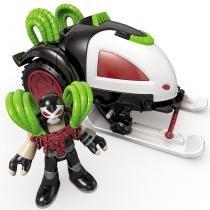 Imaginext Batveiculos Treno de Combate - Mattel - Mattel