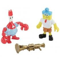Imaginext - Boneco Imaginext  Bob Esponja e Seu Sirigueijo - Fisher Price - Fisher Price