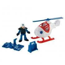 Imaginext City - Helicóptero - Fisher Price - Fisher Price