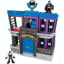 Imaginext DC Super Friends - Prisão de Gotham City - Fisher Price - Fisher Price