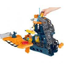 Imaginext Navio Comando do Mar - Fisher-Price DFX93 com Boneco