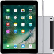 "iPad Air 2 Apple 4G 128GB Cinza Espacial Tela 9,7"" - Retina Proc. Chip A8X Câm. 8MP + Frontal iOS 10"