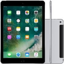 "iPad Air 2 Apple 4G 128GB Cinza Espacial Tela 9,7"" - Retina Proc. M8 Câm. 8MP + Frontal iOS 8 Touch ID"