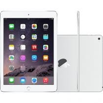 "iPad Air 2 Apple 64GB Prata Tela 9,7"" Retina - Proc. M8 Câm. 8MP + Frontal iOS 8 Touch ID"