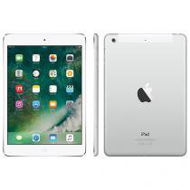 "iPad Mini 2 Apple 4G 32GB Prata Tela 7,9"" Retina - Proc. Chip A7 Câmera 5MP + Frontal iOS 10"