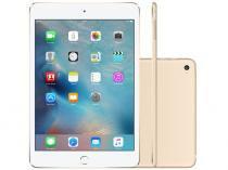 iPad Mini 4 Apple 128GB Dourado Tela 7,9 Retina - Wi-Fi Processador M8 Câmera 8MP + Frontal