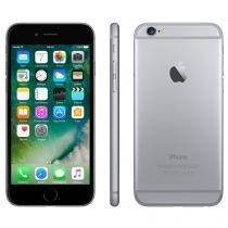 "iPhone 6 Apple 16GB Cinza Espacial 4G Tela 4,7"" - Retina Câmera 8MP iOS 8 Proc. M8"