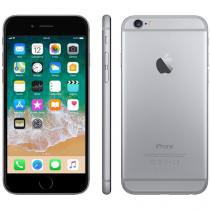 "iPhone 6 Apple 16GB Cinza Espacial Tela 4,7"" - Retina 4G Câmera 8MP + Frontal iOS 8 Proc. M8"