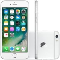 "iPhone 6 Apple 16GB Prata Tela 4,7"" Retina 4G - Câmera 8MP + Frontal iOS 8 Proc. M8 Touch ID"