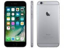 "iPhone 6 Apple 64GB Cinza Espacial 4G Tela 4,7"" - Retina Câmera 8MP iOS 10 Proc. M8"