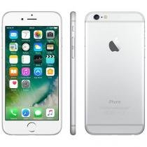 "iPhone 6 Apple 64GB Prata 4G Tela 4,7"" Retina - Câmera 8MP iOS 8 Proc. M8 Touch ID"
