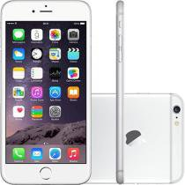 "iPhone 6 Plus Apple 64GB 4G iOS 8 Tela 5.5"" Câm. 8MP Proc. A8 Touch ID Wi-Fi GPS NFC Prata"