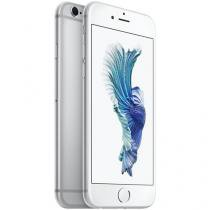 "iPhone 6S Apple 128GB Prata 4G Tela 4.7"" Retina - Câm. 12MP + Frontal 5MP iOS 9 Proc. Chip A9"