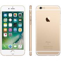 "iPhone 6S Apple 16GB Dourado 4G Tela 4.7"" Retina - Câm 12MP + Selfie 5MP iOS 9 Proc. Chip A9 3D Touch"