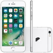 "iPhone 6S Apple 16GB Prata 4G Tela 4,7"" Retina - Câm 12MP + Selfie 5MP iOS 9 Proc. Chip A9 3D Touch"