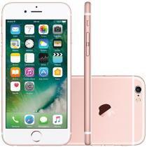 """iPhone 6S Apple 16GB Rose 4G Tela 4.7"""" Retina - Câm. 12MP + Selfie 5MP iOS 9 Proc. Chip A9"""