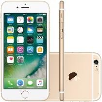 "iPhone 6S Apple 64GB Dourado 4G Tela 4.7"" Retina - Câm. 12MP + Frontal 5MP iOS 9 Proc. Chip A9"