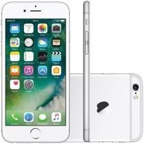 "iPhone 6s Apple 64GB Prata 4G Tela 4.7"" Retina - Câm 12MP + Selfie 5MP iOS 10 Proc Chip A9 3D Touch"