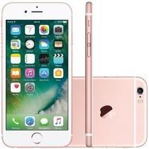 """iPhone 6S Apple 64GB Rose 4G Tela 4.7"""" Retina - Câm. 12MP + Selfie 5MP iOS 9 Proc. Chip A9"""