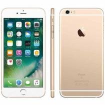 "iPhone 6S Plus Apple 16GB Dourado 4G Tela 5.5"" - Retina Câm. 12MP + Selfie 5MP iOS 9 Proc. Chip A9"