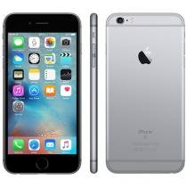 "iPhone 6s Plus Apple 64GB Cinza Espacial 4G - Tela 5.5"" Retina Câm. 12MP + Selfie 5MP iOS 10"