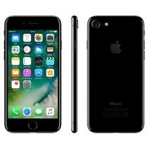 "iPhone 7 Apple 128GB Preto Brilhante 4G 4,7""Retina - Câm. 12MP + Selfie 7MP iOS 10 Proc. Chip A10"