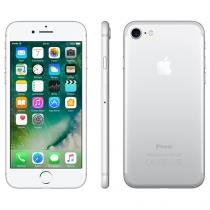 "iPhone 7 Apple 256GB Prateado 4G 4,7"" Retina - Câm. 12MP + Selfie 7MP iOS 10 Proc. Chip A10"
