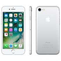 "iPhone 7 Apple 32GB Prateado 4G 4,7"" Retina - Câm. 12MP + Selfie 7MP iOS 10 Proc. Chip A10"