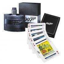 James Bond 007 Eau de Toilette James Bond - Kit de Perfume Masculino 50ml + Jogo de Cartas - James Bond