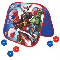 Jogo Acerte os Alvos Play Ball Marvel Avengers 2313 - Lider - Lider Brinquedos