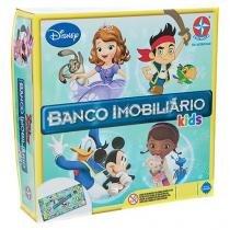 Jogo Banco Imobiliário Tabuleiro Disney Junior - Kids Estrela