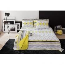 Jogo de Cama / Lençol Queen Size Home Design Yve - 4 Peças 100% Algodão - Santista