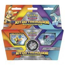 Jogo de Cartas Pokémon Estampas Ilustradas - Kit do Treinador 60 Cartas Copag